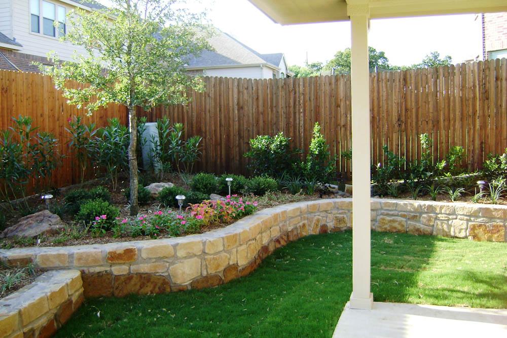 cost to landscape backyard photo - 2