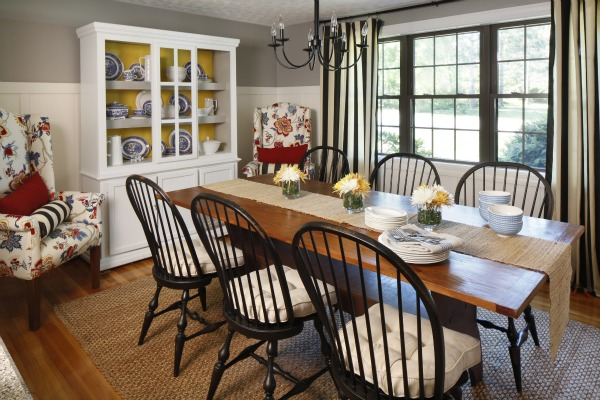 Cottage dining room large and beautiful photos Photo to select