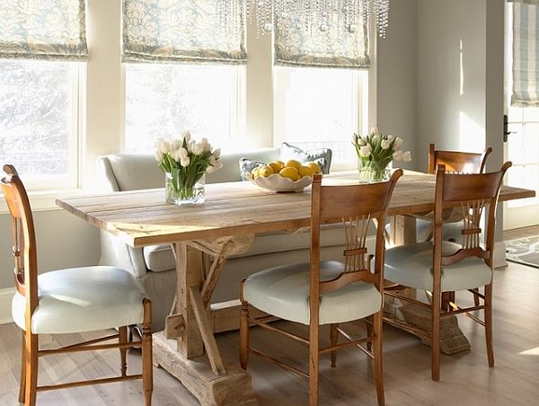 cottage style dining room photo - 2