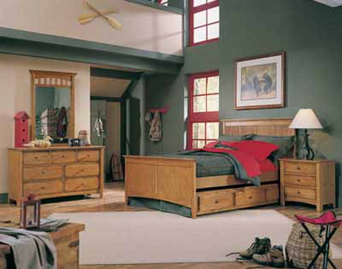 Country bedroom colors - large and beautiful photos. Photo ...