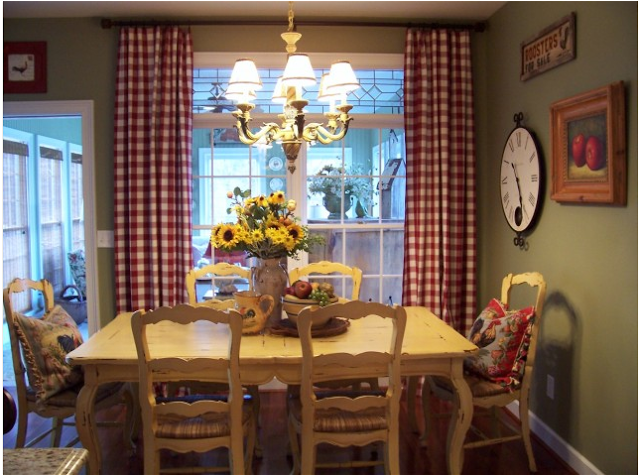 country dining room decorating ideas photo - 2