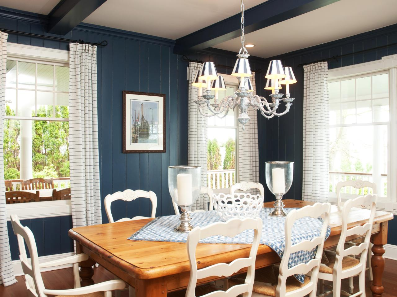 country dining rooms photo - 2