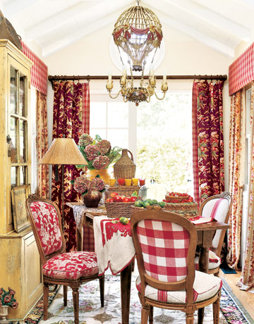 country style dining rooms photo - 1