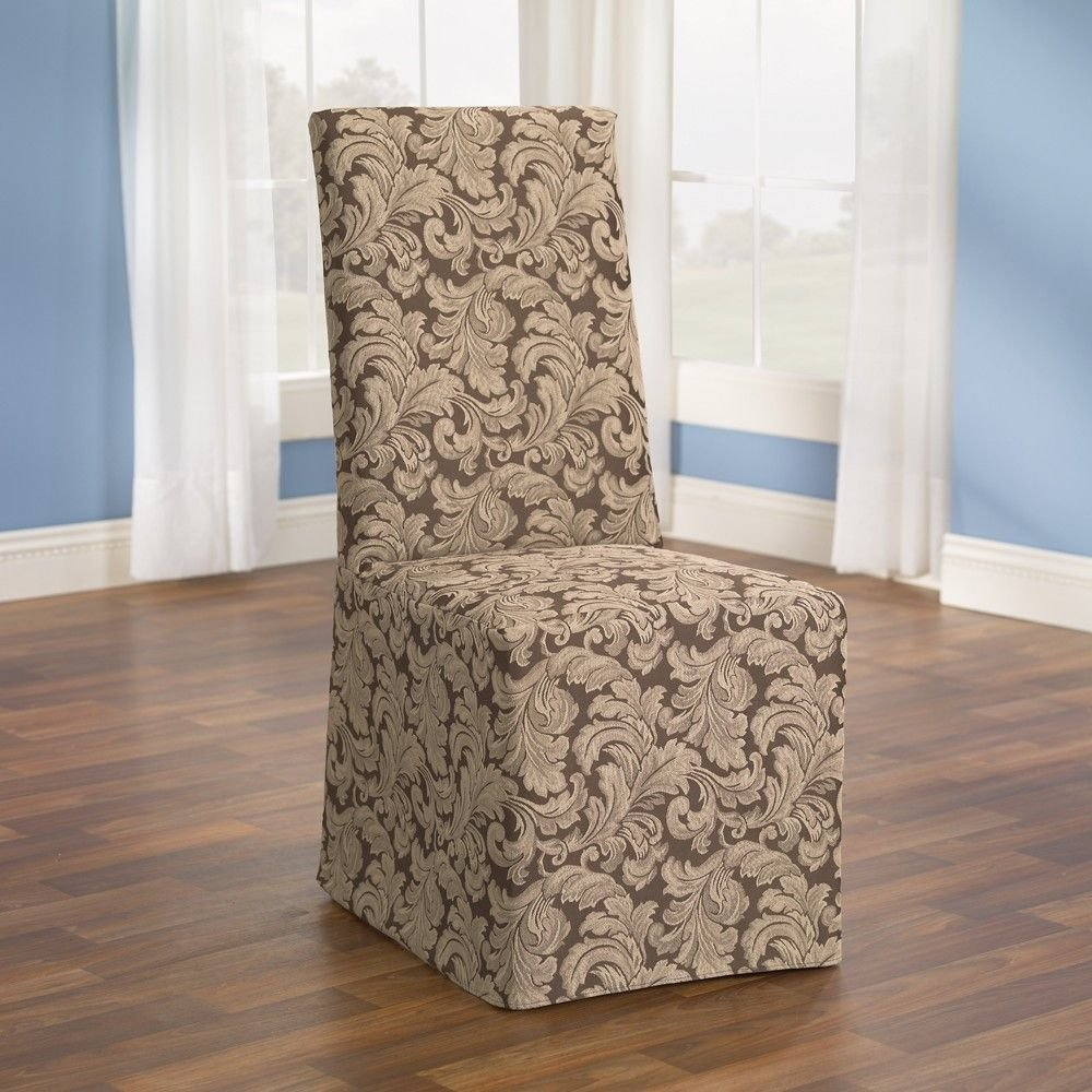 cover dining room chairs photo - 2