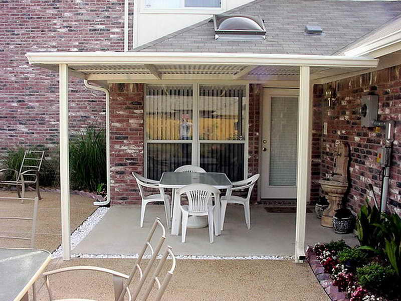 covered patio ideas for backyard photo - 1