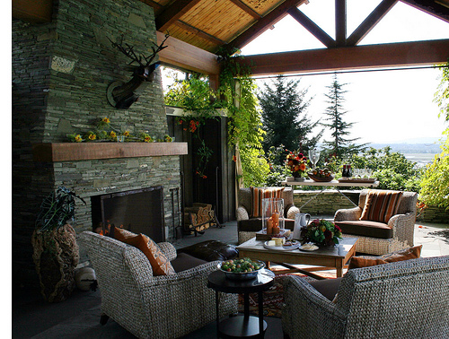 covered patio ideas for backyard photo - 2