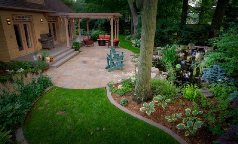 cozy backyard ideas photo - 2