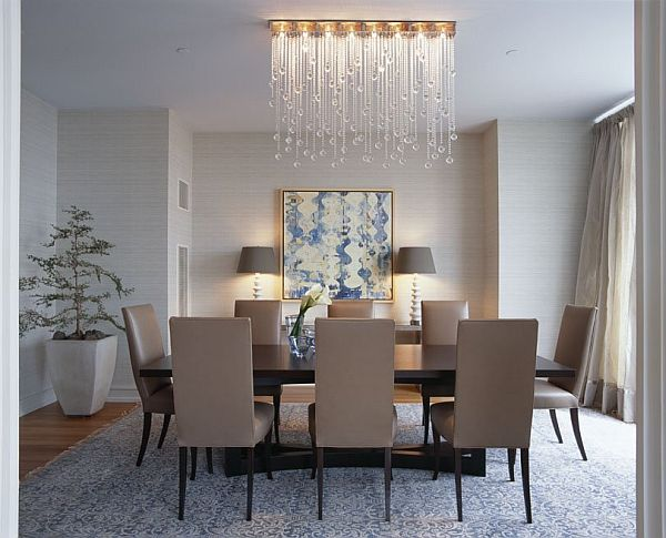 crystal chandelier for dining room photo - 1