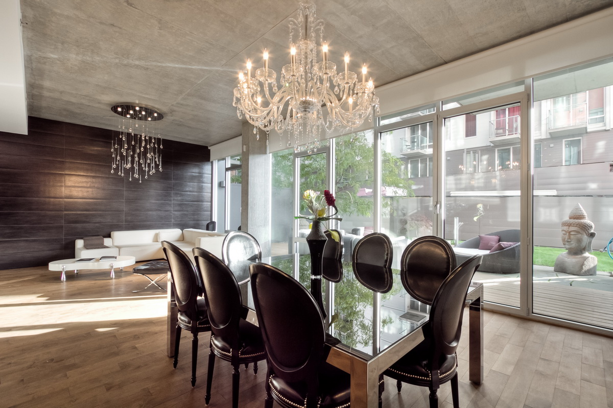 crystal chandelier for dining room photo - 2