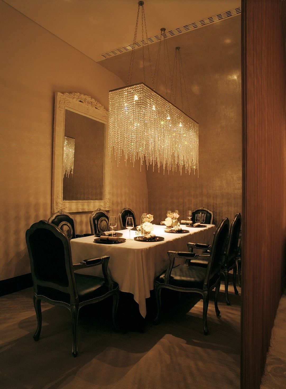 crystal dining room chandeliers photo - 1