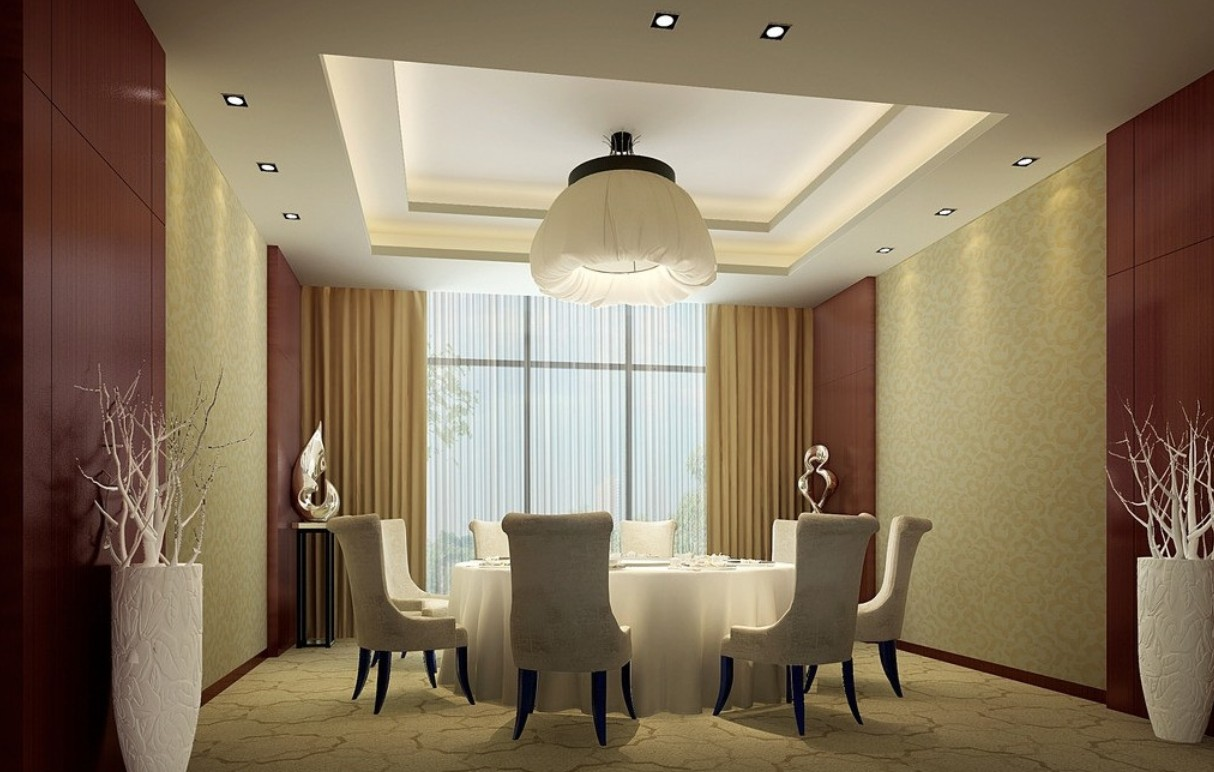 curtain ideas for dining room photo - 1