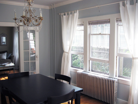 curtains for dining room photo - 1