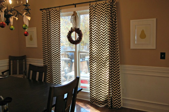 curtains for dining room photo - 2
