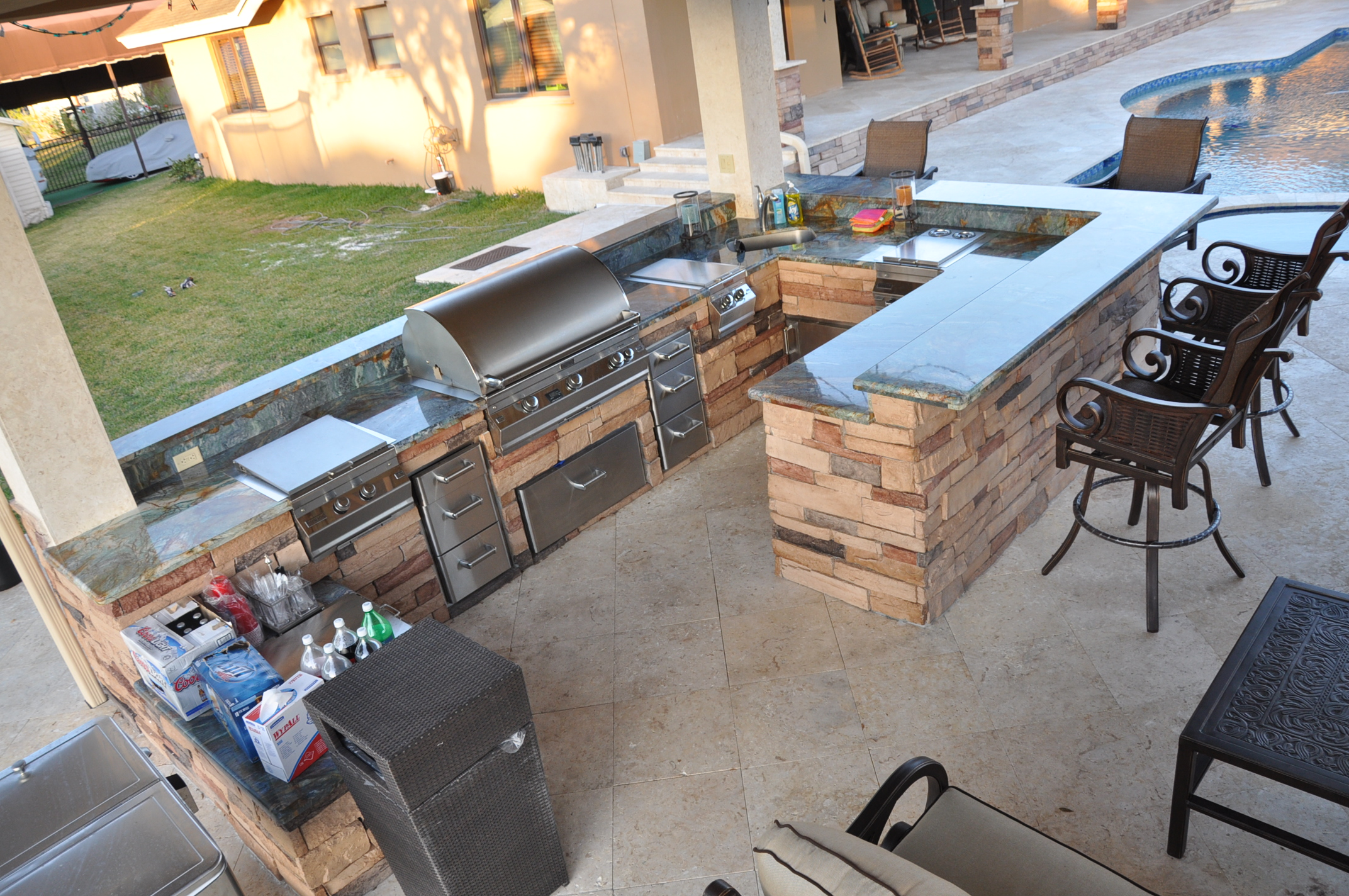 Charmant Custom Backyard Designs