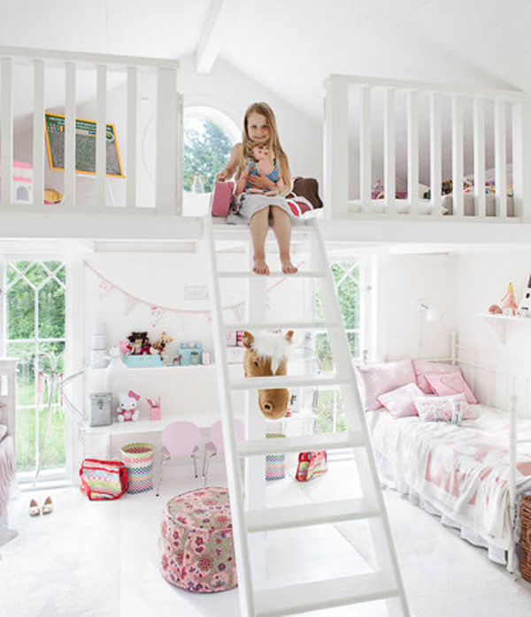 Cute little girl bedroom ideas - large and beautiful photos. Photo ...