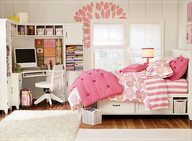 cute teenage girl bedroom designs photo - 2