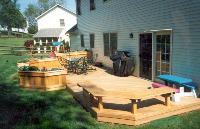 decks ideas for backyards photo - 1