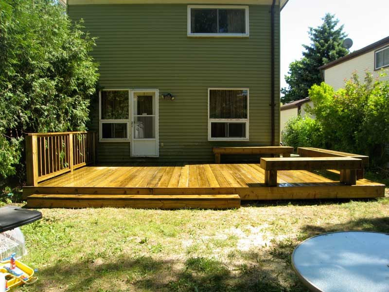 decks ideas for backyards photo - 2