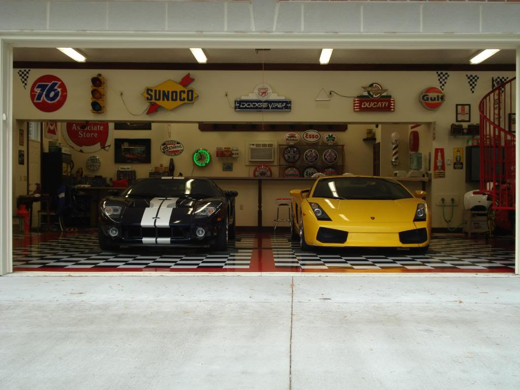 Decorating garage automobile id e inspirante pour la conceptio - Decoration garage automobile ...