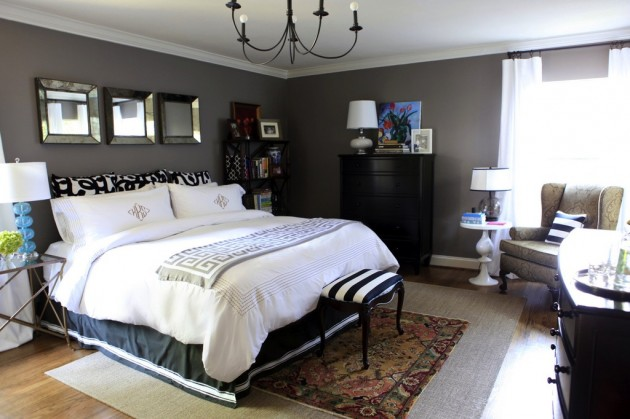 decorating a bedroom with gray walls photo 2 - Gray Wall Bedroom Ideas