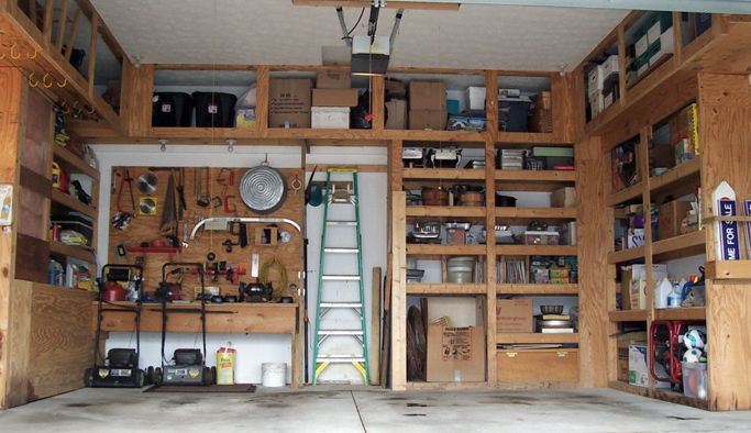 Decorating a garage  large and beautiful photos Photo to