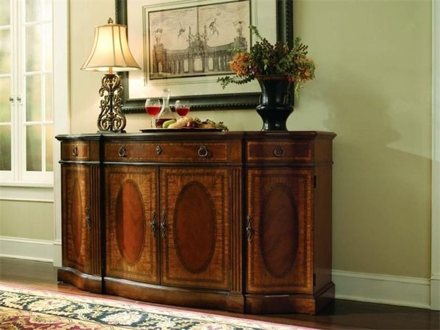 Decorating dining room buffets and sideboards - large and ...