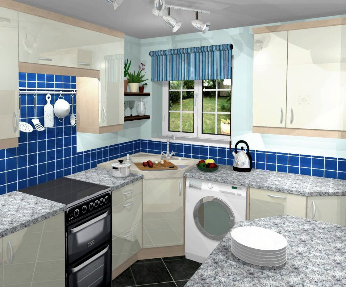 decorating ideas for a small kitchen photo - 2