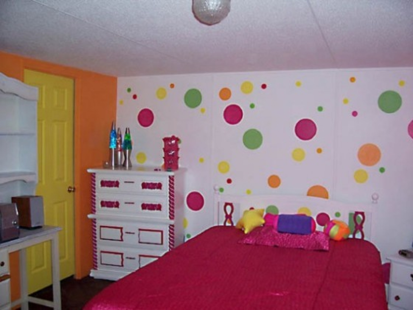 decorating ideas for girls bedroom photo - 1