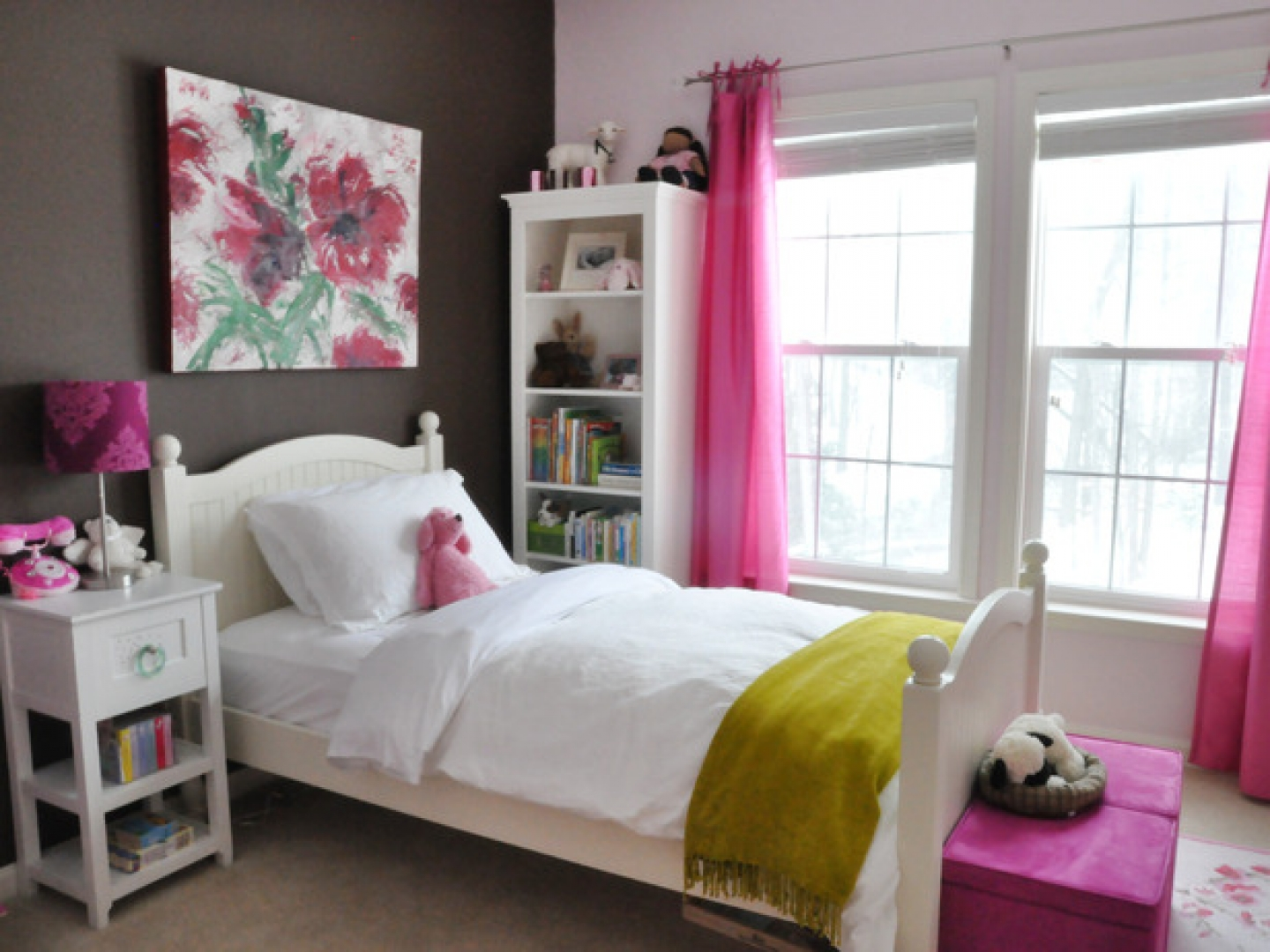 decorating ideas for girls bedroom photo - 2