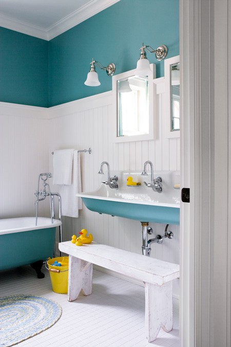 decorating ideas for small bathroom photo - 1