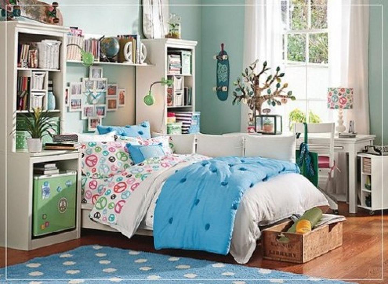 decorating ideas teenage bedroom photo - 2