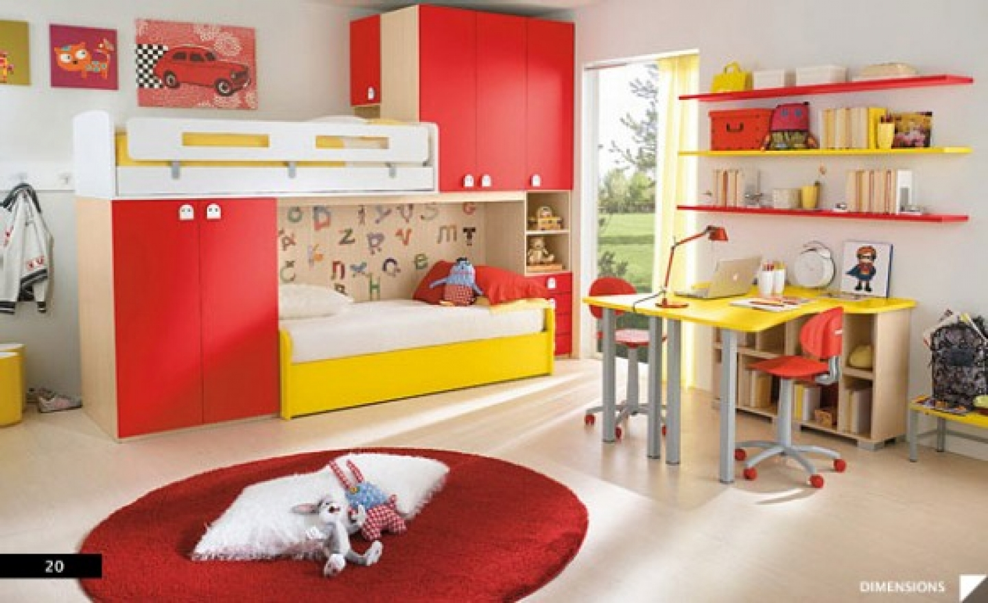 decorating kids bedrooms photo - 2