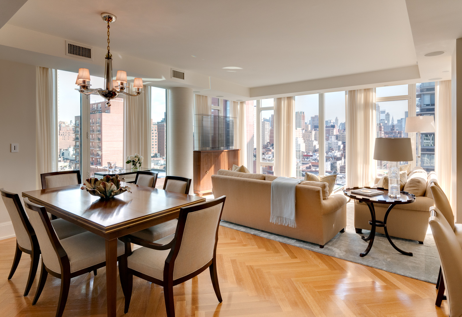 decorating living room dining room combo photo - 1