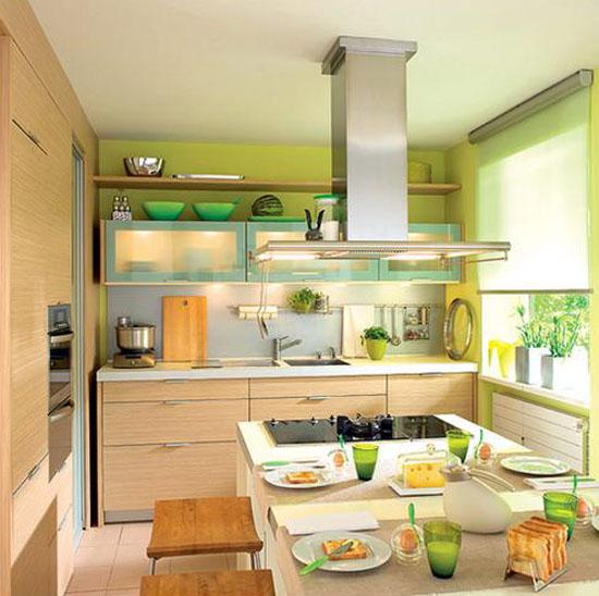 decorating small kitchen photo - 2