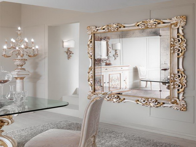 decorative mirrors for dining room photo - 2