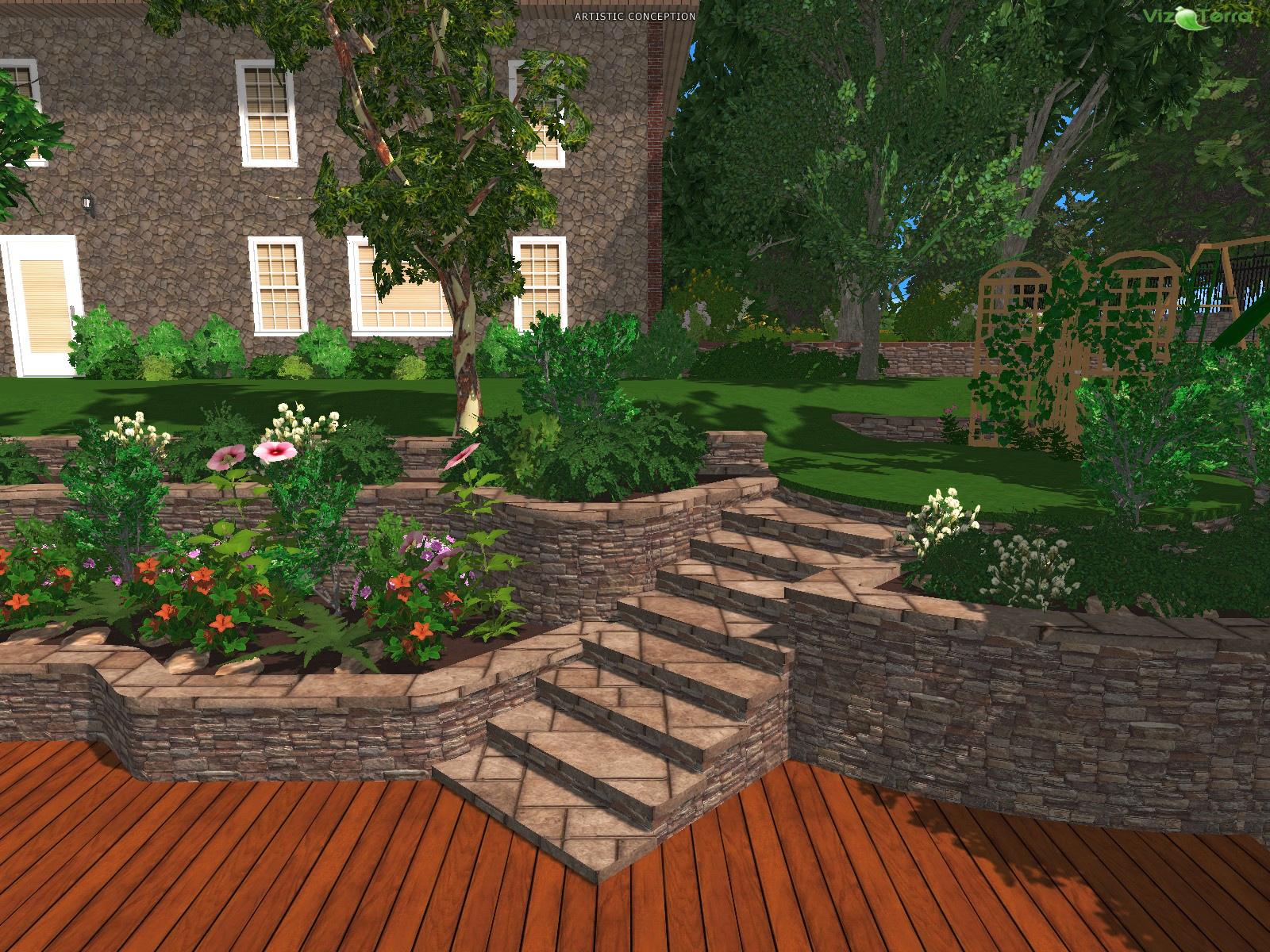 design backyard online free photo - 2