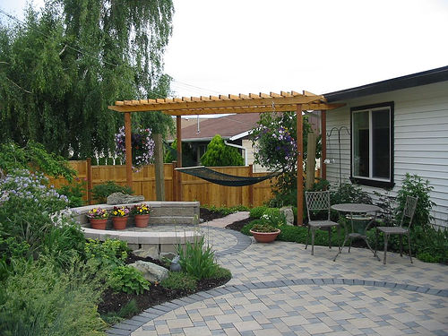 design backyard patio photo - 1