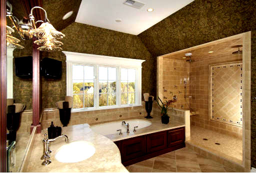 design ideas for bathrooms photo - 1