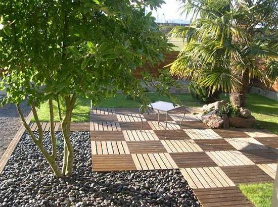 design ideas for small backyards photo - 2