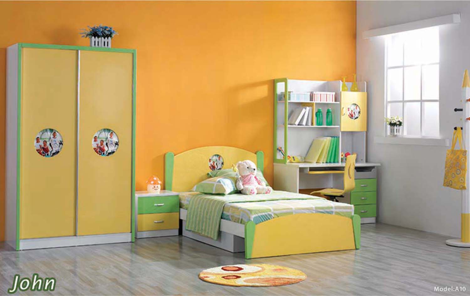 design kids bedroom photo - 2