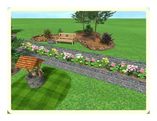 design your backyard online photo - 2