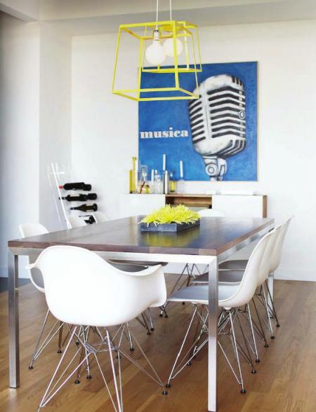 designer dining rooms photo - 2