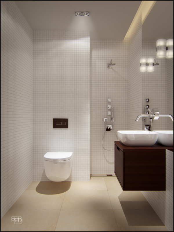 Good Designing Small Bathrooms