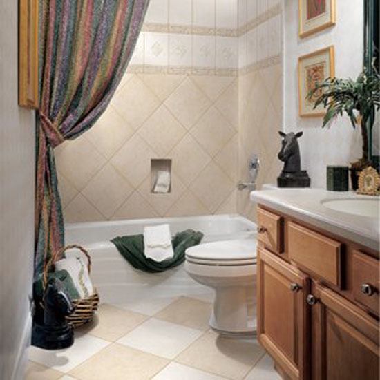 designs for small bathrooms photo - 1