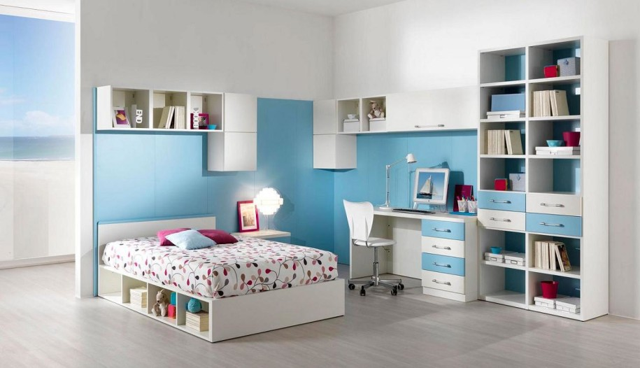 designs for teenage bedrooms photo - 2