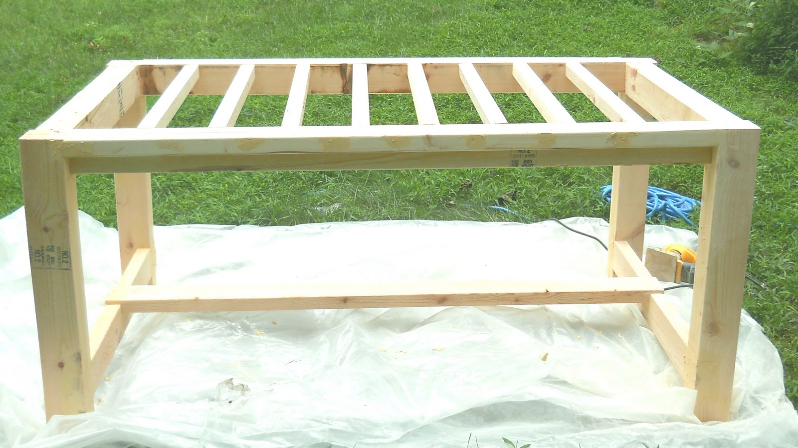 dining bench plans photo - 2