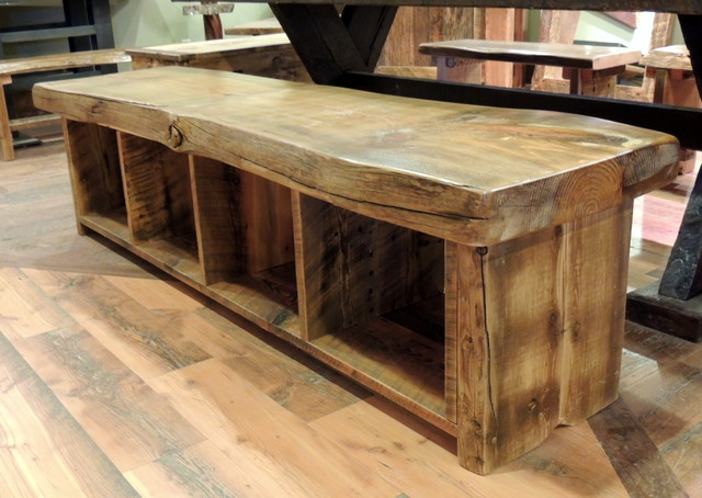 dining room benches with storage photo - 1