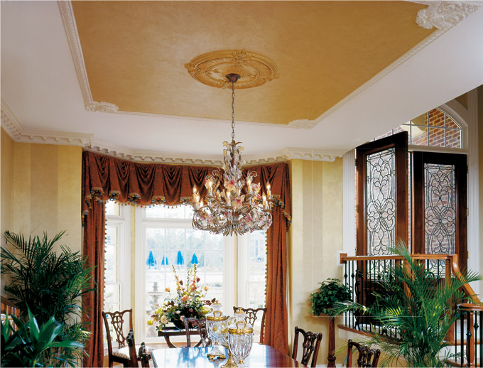 Dining room ceiling ideas - large and beautiful photos ...