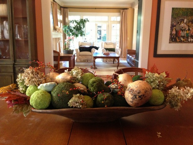 Centerpieces For Dining Room Table dining room centerpiece - large and beautiful photos. photo to