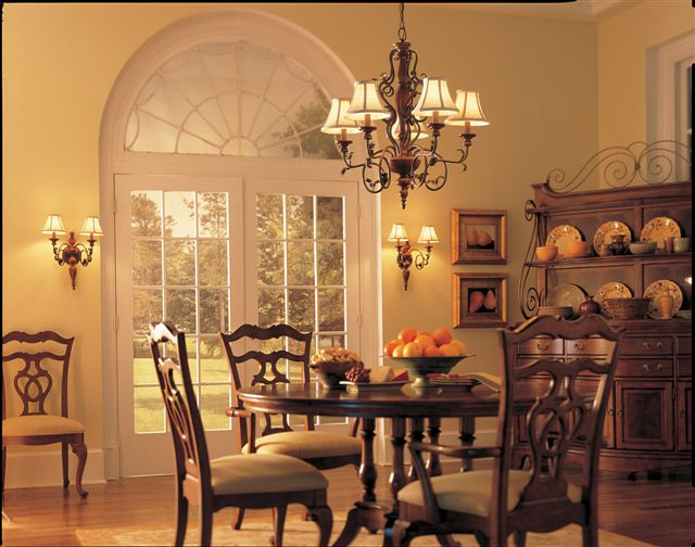 dining room chandelier lighting photo - 2